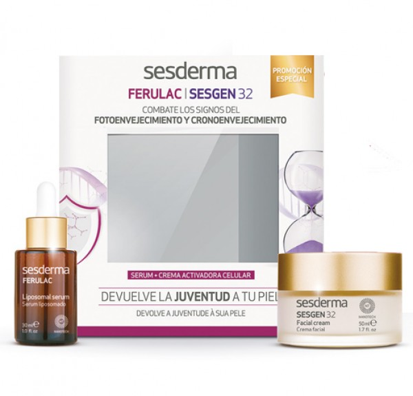Sesderma Pack Sesgen 32 Crema 50ml + Sesgen 32 Liposomal Serum 30ml